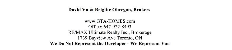 Condo Sales Agent Contact Info